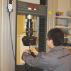 Tensile testing - Machine model CMT5205 by MTS System Corporation (USA). Capacity 200 KN, load range 0.4% - 100%